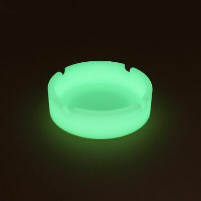 Glow In The Dark Luminous Silicone Soft Ashtray For Smoking Cigarette Cigar