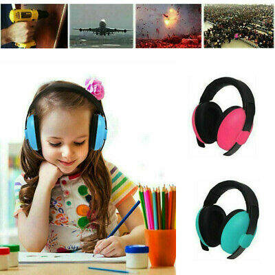 Baby Kid Ear Defenders Autism Muffs Noise Reduction Protectors Children Toddler