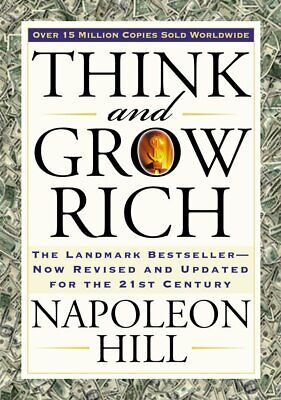 Think and Grow Rich (Bevelled Edge edition) By Napoleon Hill Paperback XMas gift