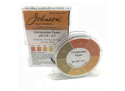 Comparator Paper PH 1.0 - 3.5 - 200 strips