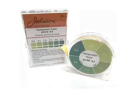 Comparator Paper pH indicator paper 6.8 - 8.3 - 200 strips