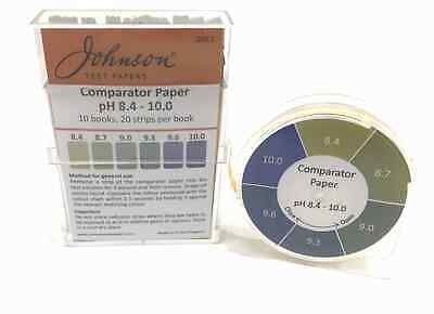 Comparator Paper pH indicator paper 8.4 - 10.0 - 200 strips