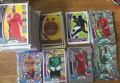 Match Attax Spfl 2017/18  All 336 Cards Plus All 15 Squad Cards (Read Info)