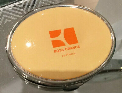 Boss Orange Double Magnified Pocket Compact Mirror