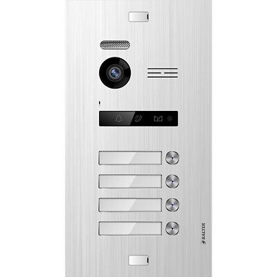 Balter Evo Silver Door Station for 4 Subscriber, 2-Draht Bus Technology (Video