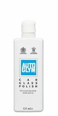 Autoglym Car Detailing - Glass Window Polish for Interior and Exterior - 325ml