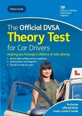 The Official DVSA Theory Test for Car Drivers 9780115536588 | Brand New