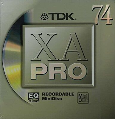 TDK MD XA PRO 74 minutes MD-XAPR74 Mini Disc Recordable genuine from From japan