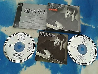 Billy Joel ‎– Greatest Hits Volume I & Ii Europe Dbl Cd Fatbox No Barcode