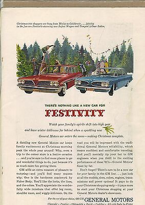 Original 1961 Pontiac Magazine Ad - There's Nothing Like a New Car...