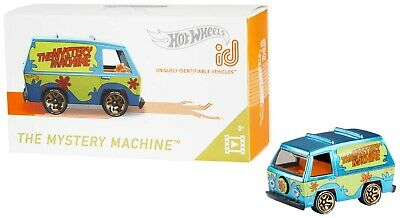 Hot Wheels ID Cars - The Mystery Machine -Uniquely Identifiable Vehicles