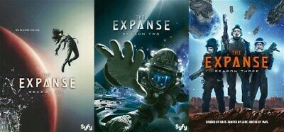 THE EXPANSE TV SERIES COMPLETE SEASONS 1 - 3 New Sealed DVD 1 2 3