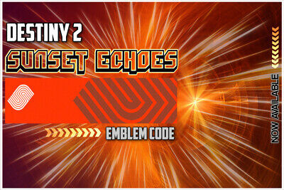 Destiny 2 Sunset Echoes Emblem