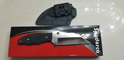Spyderco Fb09Gp2 Ronin 2 Fixed Blade Knife With Sheath. Estate Collection