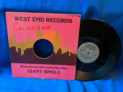 "Master Boogies Song and Dance 12"" Single When the Shit Hits the Rare Rap 1980"