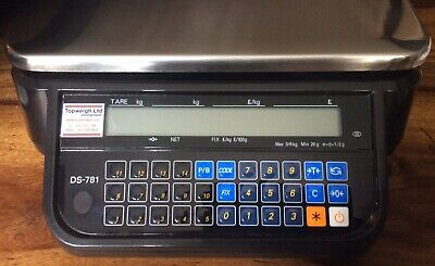 Digi DS-781 Price Computing Scale/Trading Standards Approved/Catering