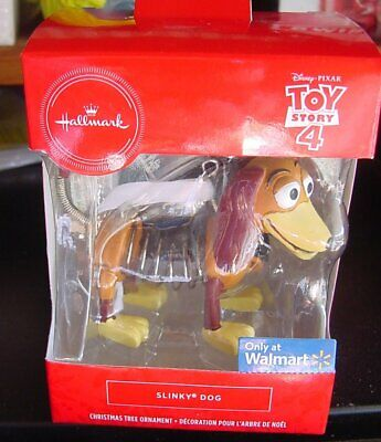 Hallmark Ornament 2019 Toy Story 4 Slinky Dog NIB