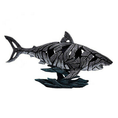 SHARK Evocative Fiercely Modern Hand Crafted Sculpture Edge Sculpture Figure