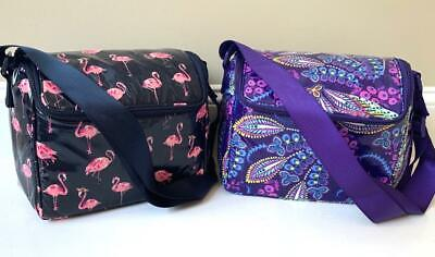 Vera Bradley Insulated STAY COOLER Lunch Baby Bottle Bag Choice of Pattern NWT
