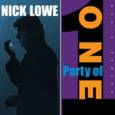 Nick Lowe-Party di One-Import LP + 17.8cm Vinile con Giappone Obi Ltd / ed I98