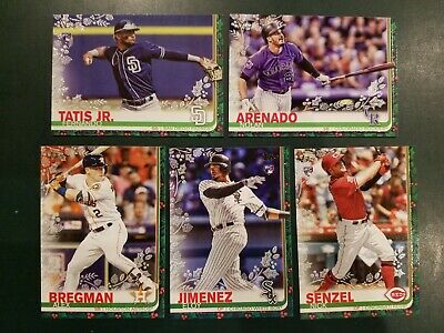 2019 Topps Holiday - METALLIC SNOWFLAKE PARALLELS -  U Pick From List