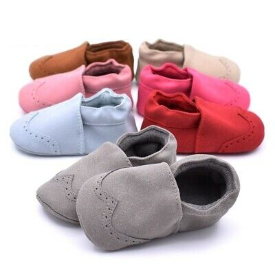 Shoe Kid New Baby Girl Boy Anti Slip Soft Sole 1pair For Toddler Suede Leather