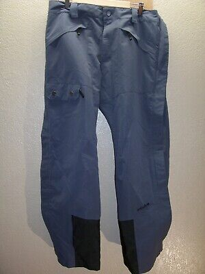 "PLANET EARTH Mens Large L 36-38""W 32""L lined side-zip Snowboard/snow Pants"