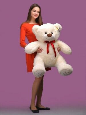 Giant Teddy Bear say I Love  you Plush Toy Girlfriend Kids Gift for Birthday 3Ft