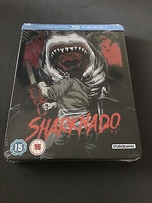 Sharknado Exclusive Limited Edition Steelbook Bluray New Sealed