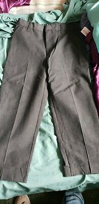 Boys Grey School Trousers Age 10 Tu