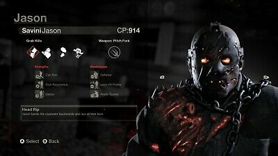 Friday The 13th Game Savini Jason DLC (Counselor Pack Included) PC STEAM