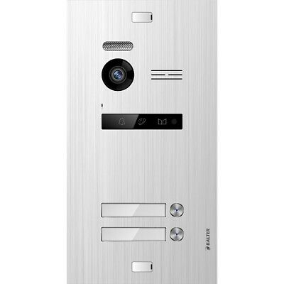 Balter Evo Silver Door Station for 2 Subscriber, 2-Draht Bus Technology (Video