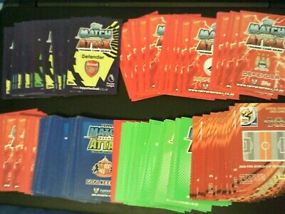 Topps Match Attax Various Seasons + Panini World Cup Cards - 150 In Total - Old