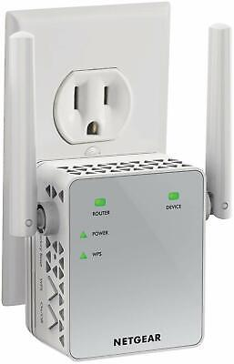 NETGEAR WiFi Range Extender AC750 Dual Band |WiFi coverage up to 750 Mbps EX3700