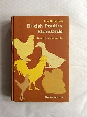 British Poultry Standards 4th Edition Game Birds Pheasant Bantam Ducks Geese Egg