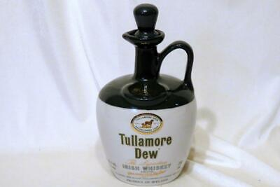Tullamore Dew Finest Irish Whiskey Collector Decanter Jug with Stopper