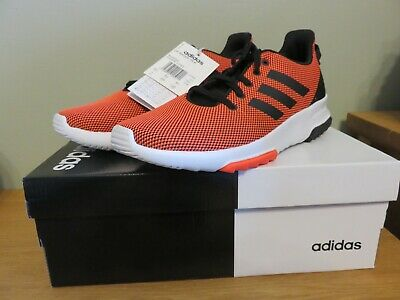 "ADIDAS CF RACER TR K SOLAR RED ""Kids"" TRAINERS - BRAND NEW - SIZE UK 6 1/2"