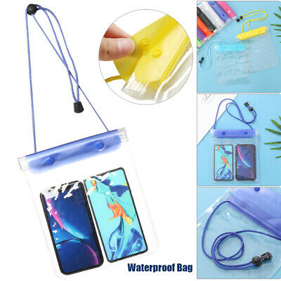 Storage Swimming Waterproof Phone Cover Underwater Pouch Diving IPad Case