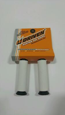 Driven Racing Motorcycle Grips 7//8 Grippy Grey Open End D637GYO Gray 57-6996