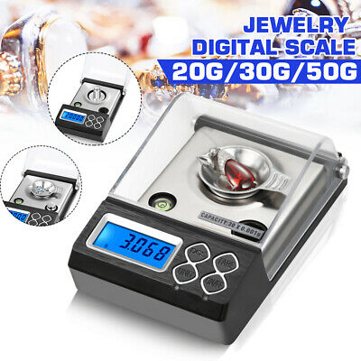 0.001G to 50G Electronic Pocket Mini Digital Gold Jewellery Weighing Scales