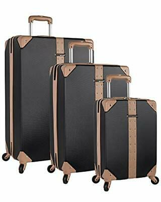 Vince Camuto 3 Piece Hardside Spinner Luggage Suitcase Set