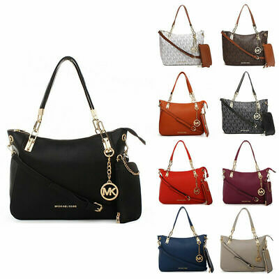 Fashion Ladies Women Large Chain Shoulder Tote Bag Leather Designer Tote New