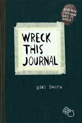 Wreck This Journal (Black) Expanded Ed. by Keri Smith 9780399161940 | Brand New