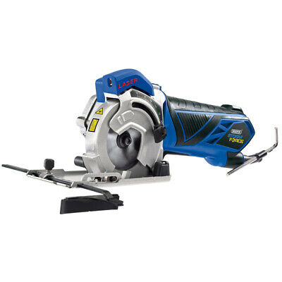 DRAPER 15098 Storm Force 89mm Laser Guided Mini Plunge Saw 600W 240v - MPS600SF