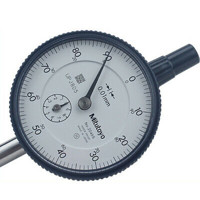 Mitutoyo 2046S Dial Indicator 0-10mm X 0.01mm Grad Brand New Made in Japan 1Pcs