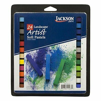JACK RICHESON 400154 JACKSON ARTIST SOFT PASTEL 24 PIECE PORTRAIT COLORS