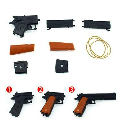 1x Classic Assembly Rubber Band Gun Shooter Shooting Children Kids Toys Portable