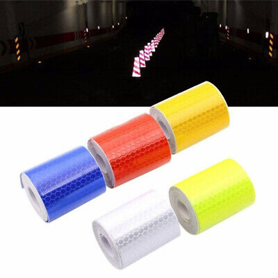 Truck Auto Night Safety Self-adhesive Arrow Tape Strip  Reflective Strips