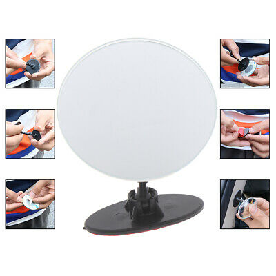 Car 360 Wide Angle Round Convex Mirror Car Side Blind Spot Rear View Mirror ZP
