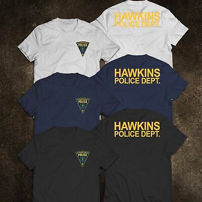New Hawkins Police Department Inspired By Stranger Things T-Shirt